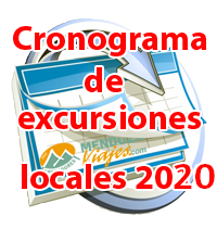 Cronograma excursiones 2016