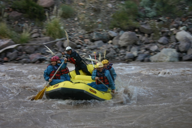rafting intermedio